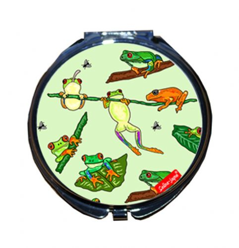 Selina-Jayne Frogs Limited Edition Compact Mirror